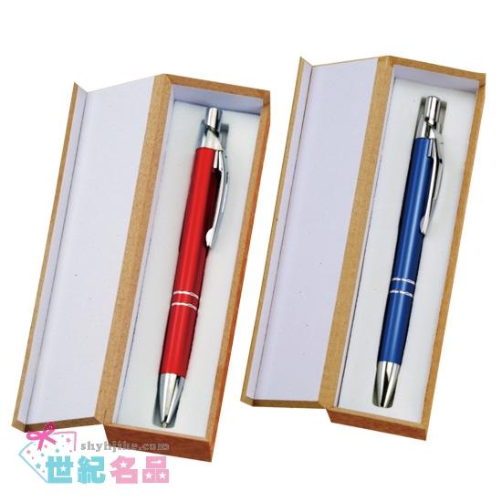 晶典原子筆+木盒