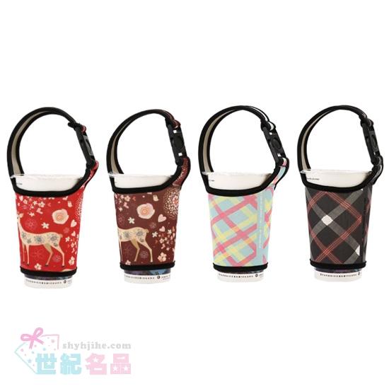 彩色飲料手提袋(加長版)