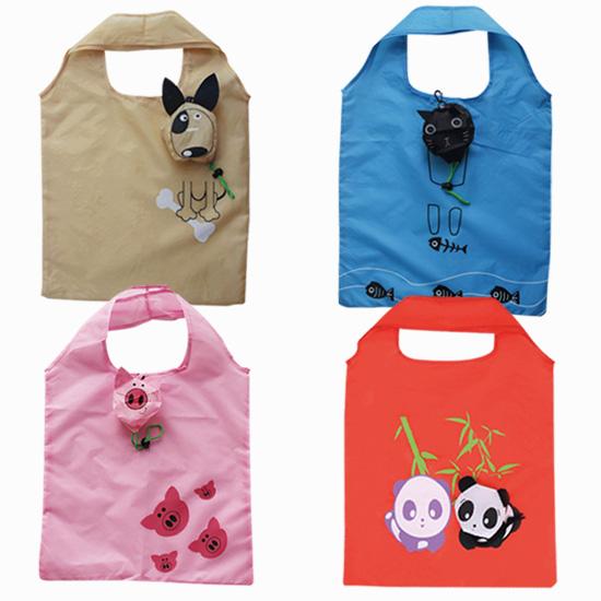 可愛動物環保袋