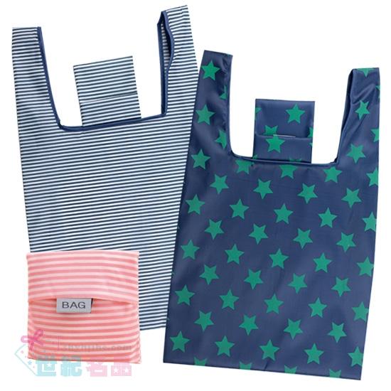 普普風折疊購物袋
