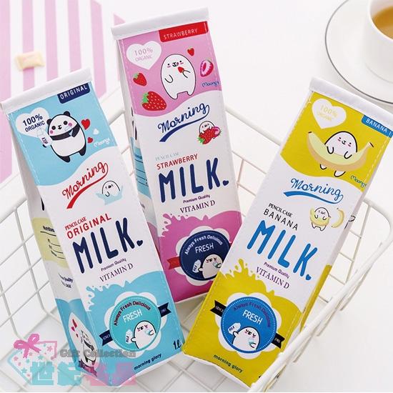 牛奶瓶造型筆袋