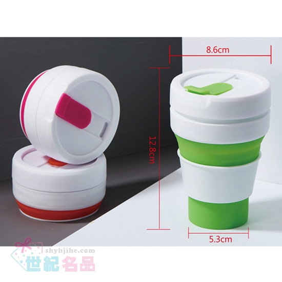 矽膠折疊伸縮咖啡杯