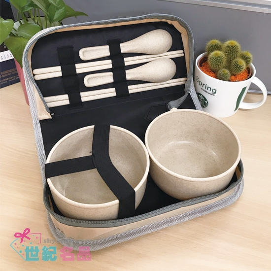 小麥雙人環保餐包組