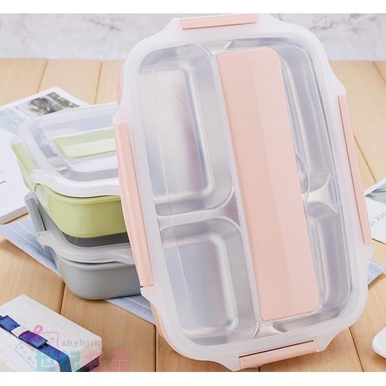 304小麥不鏽鋼餐盒+小麥餐具