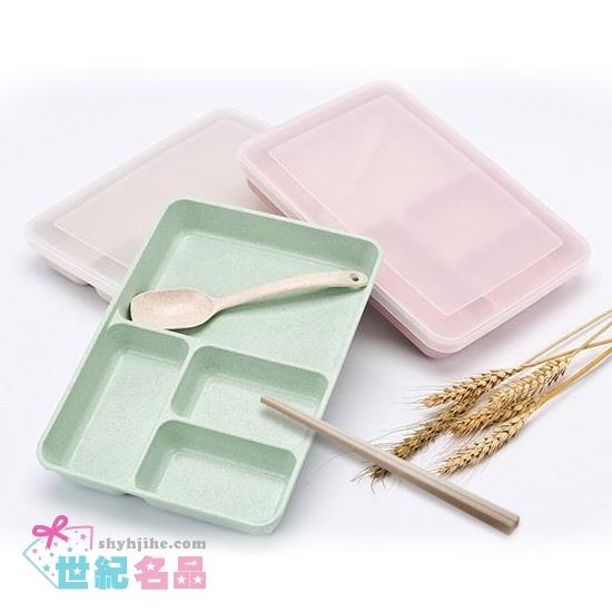 小麥環保餐盒+餐具
