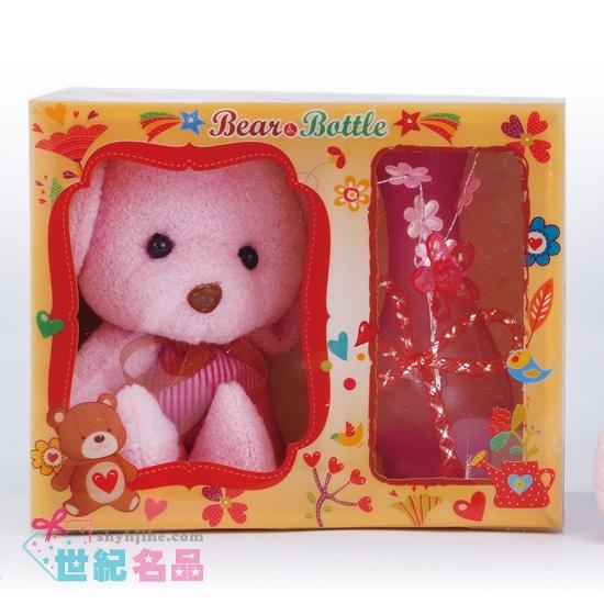 小熊玻璃瓶禮盒組